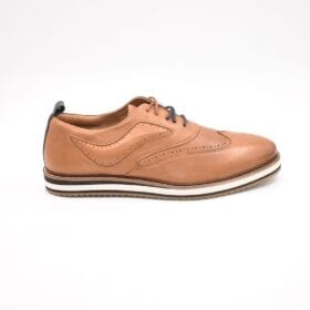 YORK LACE UP TANN FCM036